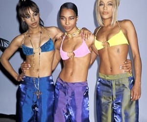 90s, tlc, and fashion image