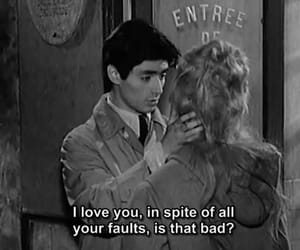 love, quotes, and fault image