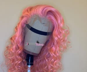 curls, pink, and unit image