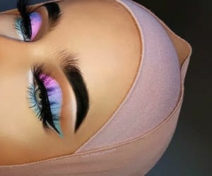 eyeshadow, inspiration, and lashes image