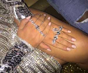 bracelets, diamonds, and fashion image
