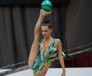 flexibility and rhythmic gymnastics image