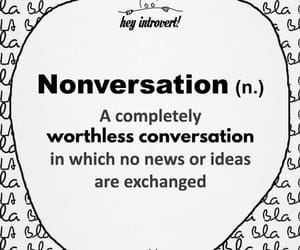 conversation, quote, and idea image