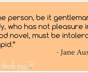 books, jane austen, and quotes image