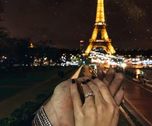 paris, travel, and love image