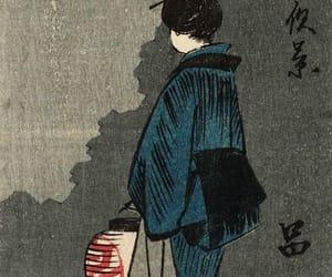 art, utagawa hiroshige, and japanese art image