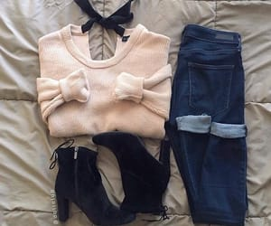 outfit, beautiful, and cute image