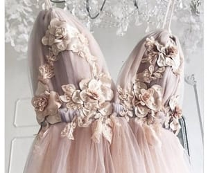 details, dress, and gowns image
