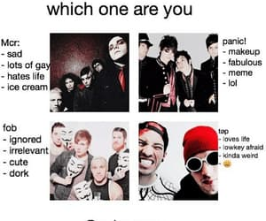 fall out boy, mcr, and top image