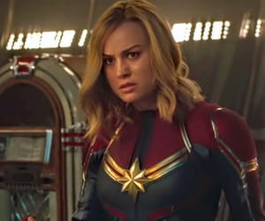 hero, brie larson, and captain marvel image