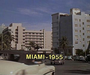 Miami, vintage, and theme image