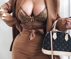 bag, LV, and sexy image