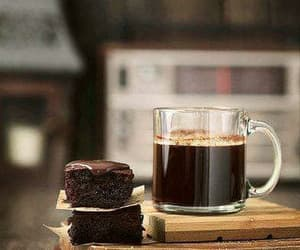coffee, cake, and chocolate image