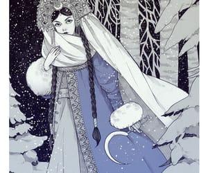 art, fantasy, and illustration image