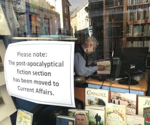 fiction, post apocalyptical, and current affairs image