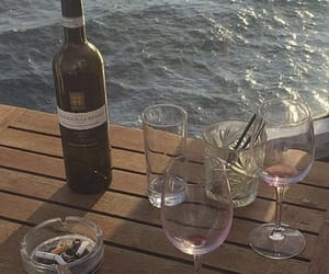 aesthetic, wine, and drink image