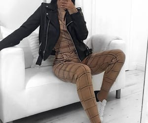 brown, fashion, and women image