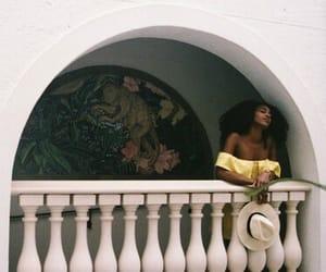 Afro, natural hair, and melanin image