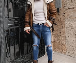brown, fashion, and goals image