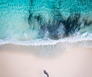 beach and sea image
