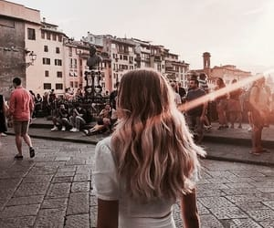 hair, fashion, and travel image