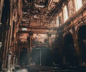 church, gothic, and la dolce vita image
