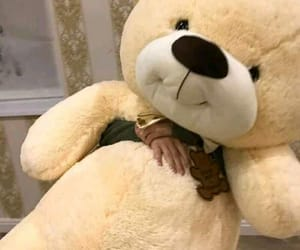 gift, suprise, and teddy image