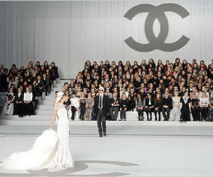 catwalk, fashion show, and chanel image