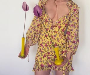 fashion, florals, and flowers image