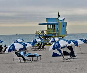 architecture, beach, and florida image
