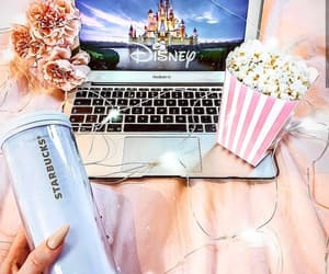 disney, movie, and popcorn image