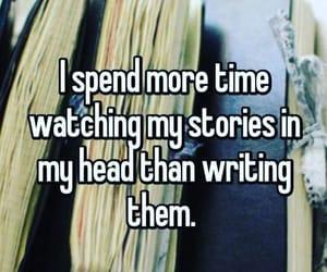 writer and writing image