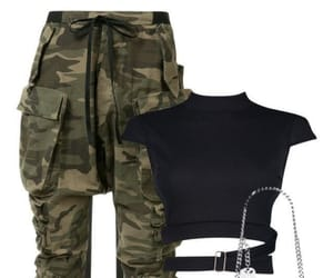 army, girl, and Polyvore image
