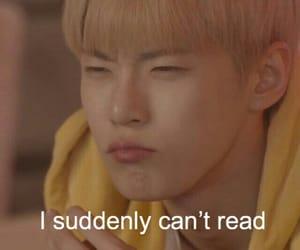 reaction, reaction meme, and kpop reaction meme image