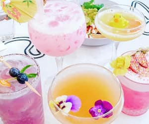 Cocktails, colours, and drinks image