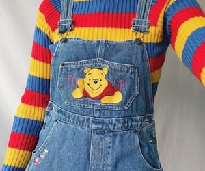 clothes, outfit, and pooh image