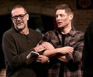 dean winchester, Jensen Ackles, and gif image