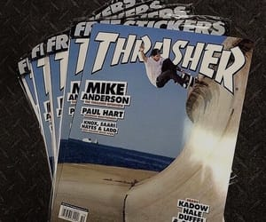 theme, aesthetic, and thrasher image