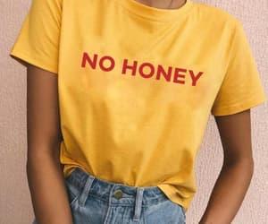 fashion, girl, and honey image