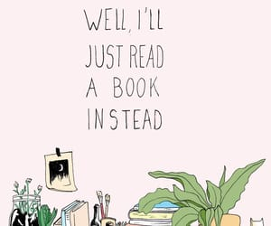 book, plants, and quotes image