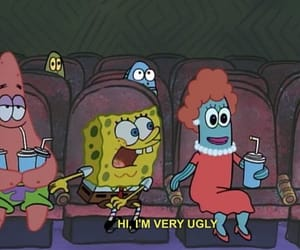 ugly, spongebob, and funny image