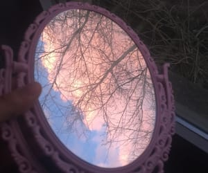aesthetic, pink, and tree image