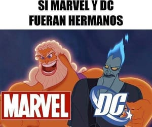 DC, disney, and funny image