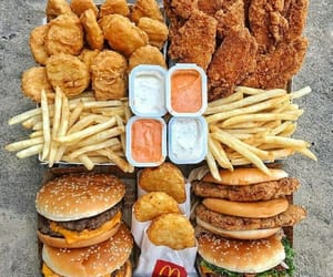 food, fast food, and yummy image