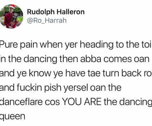 Abba, dance, and hilarious image
