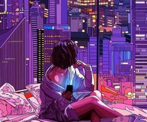 aesthetic, alone, and animated image