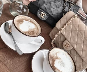 chanel and coffe image