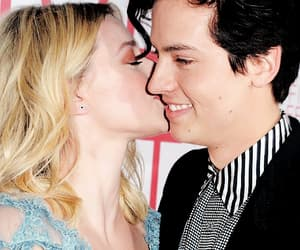 couple, pretty, and cole sprouse image