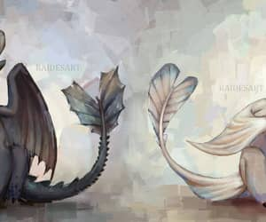 dragons, night fury, and httyd image