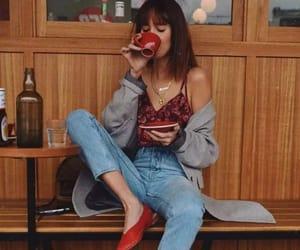 chic, coffee, and creative image